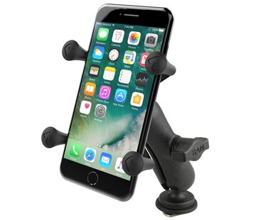 RAM Mount X-Grip smartphone met Track-ball kogel bevestiging