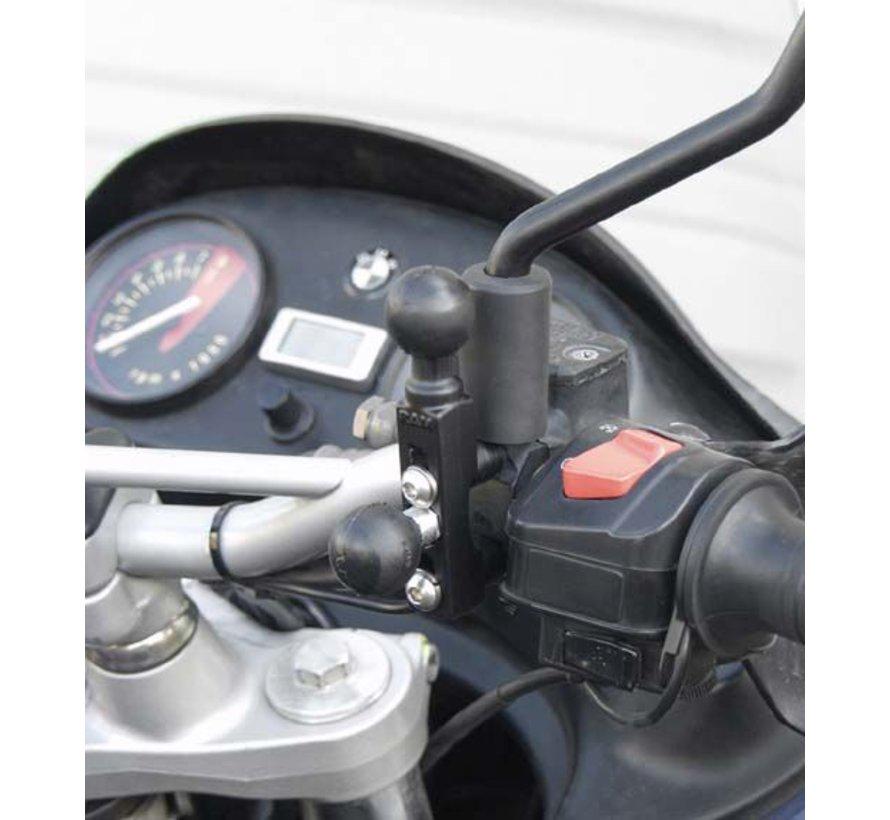 "Motorcycle Brake/Clutch Reservoir Base 1"" Balls"
