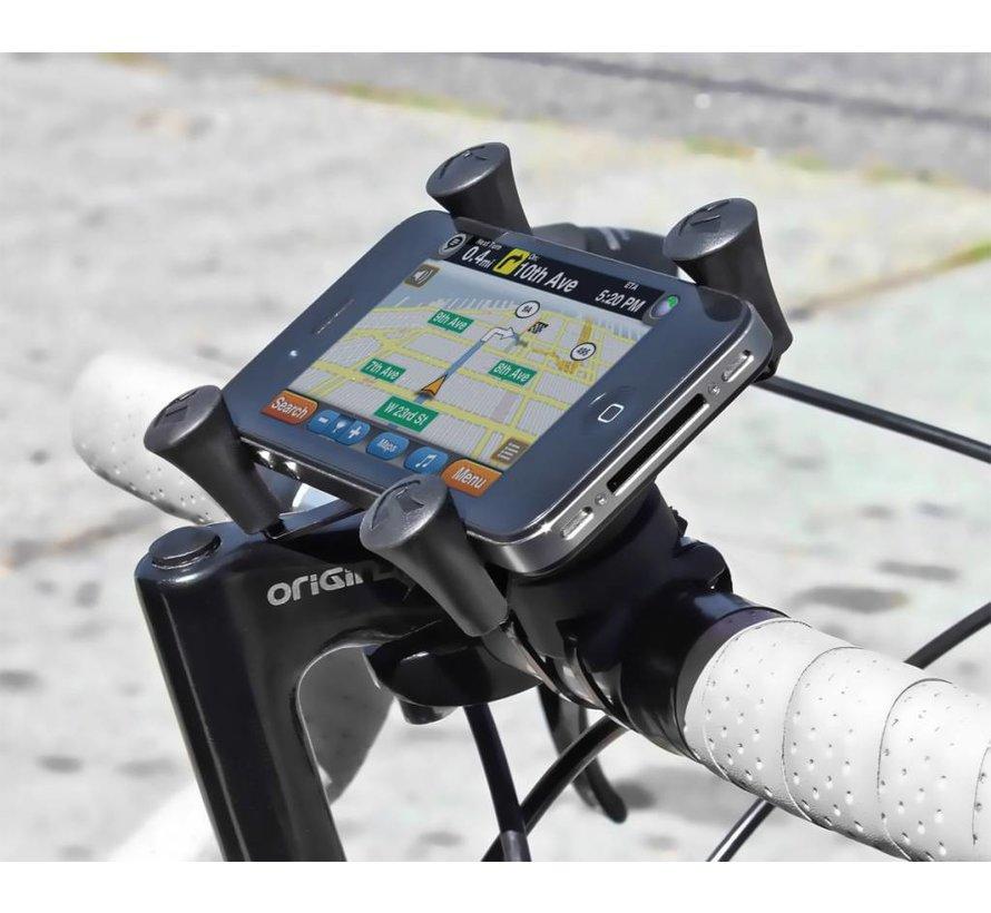 EZ-ON/OFF™ Bicycle Mount met Universal X-Grip®