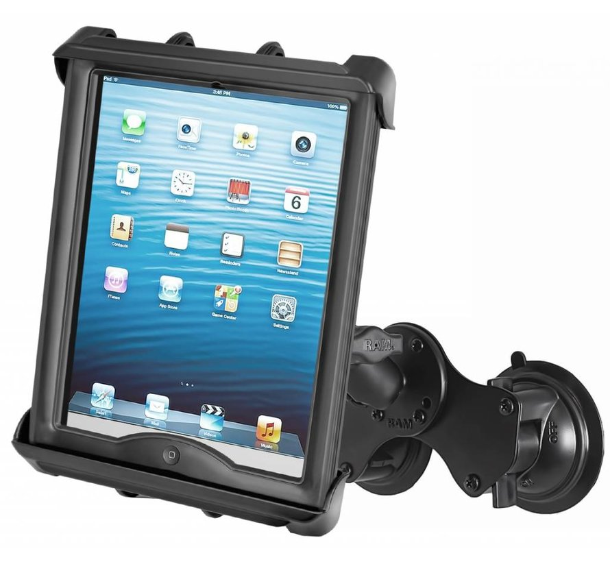 Tab-Tite iPad en TAB met case dubbele zuignapset
