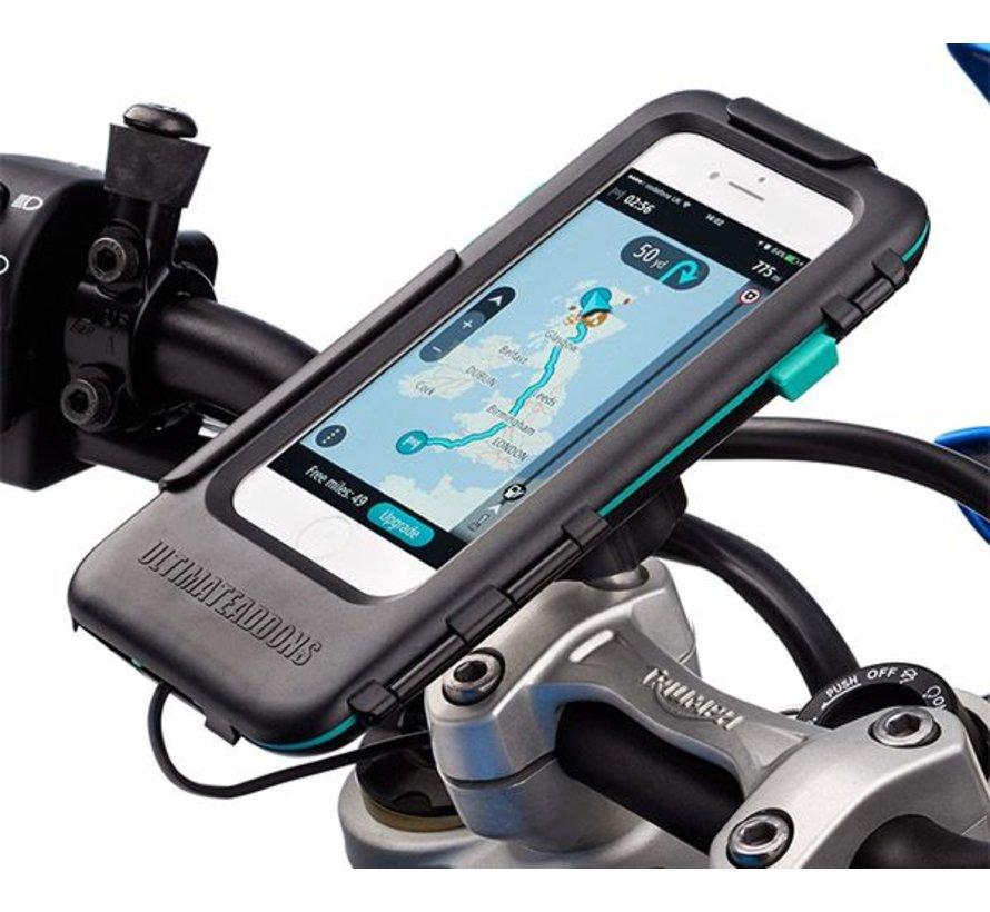 Waterdichte iPhone 6/7/8 PLUS case met oplaad mogelijkheid