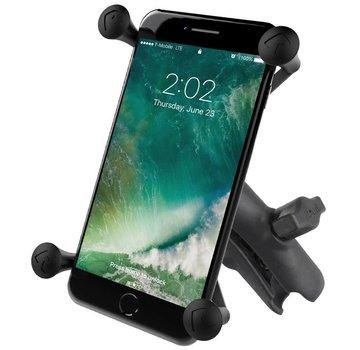 RAM Mount X-Grip large smartphone met b-maat klemarm RAP-HOL-UN10B-201U