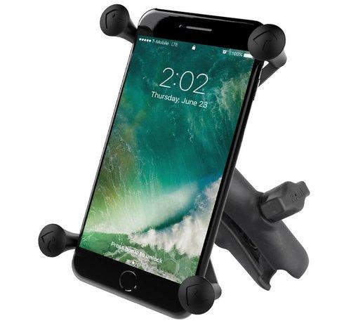 RAM Mount X-Grip large smartphone met klemarm