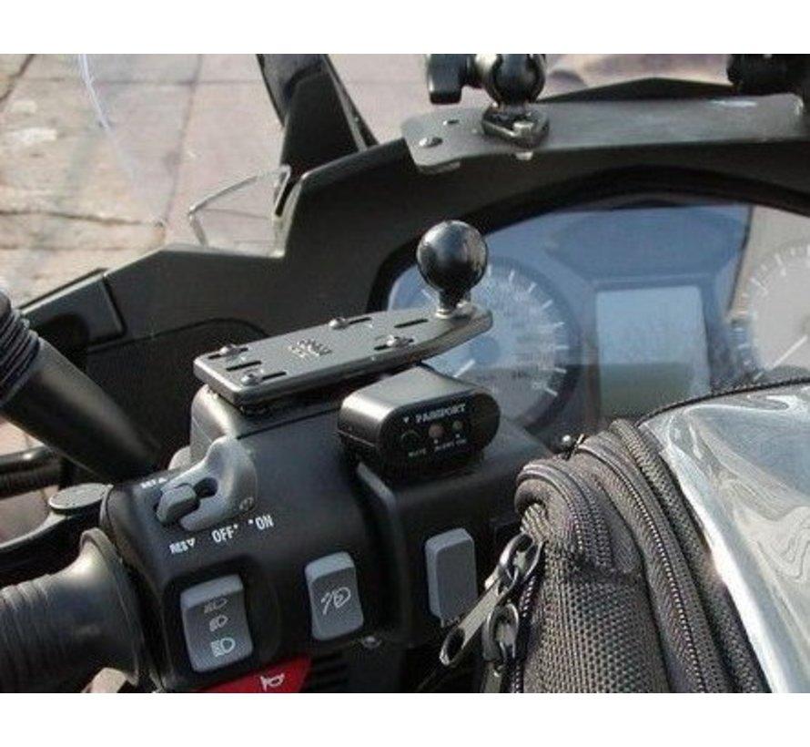 Motorcycle Brake/Clutch Reservoir Cover Base