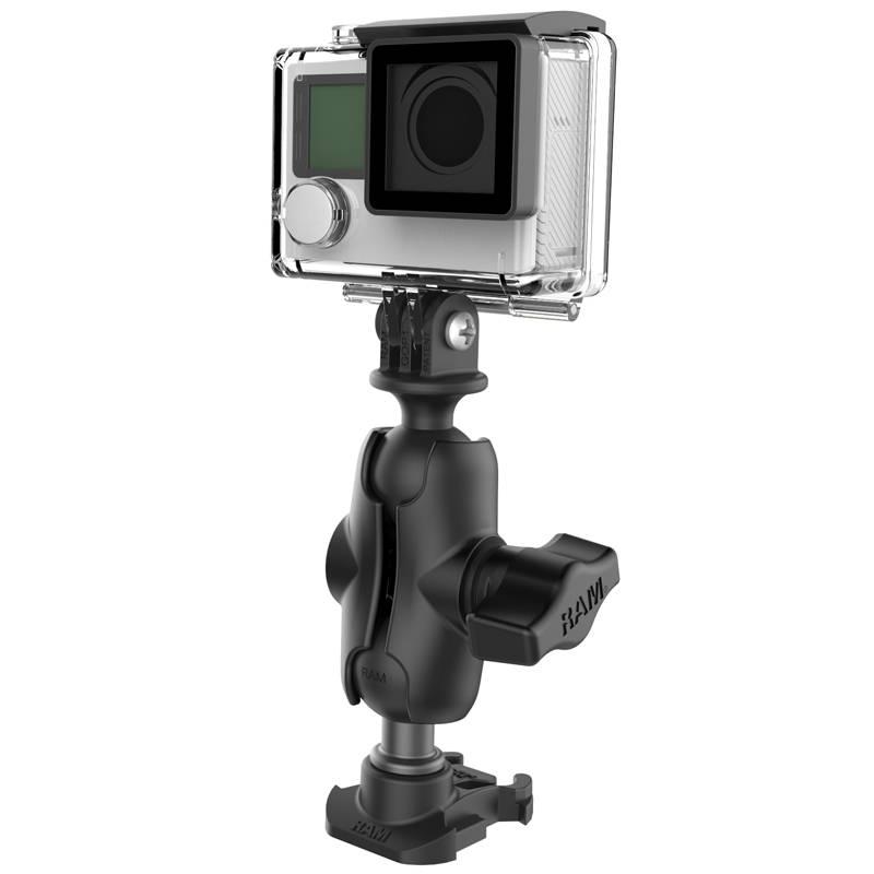 RAM Mount Montage set Action en Adapter voor GoPro® Mounting Bases