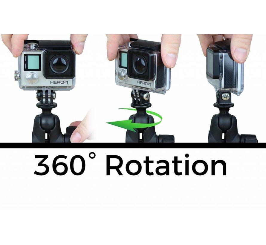 Montage set Action en Adapter voor GoPro® Mounting Bases