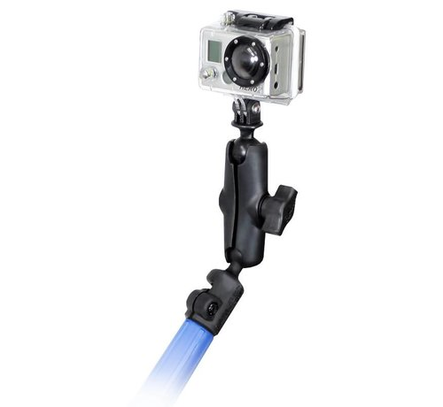 RAM Mount Telescoping Camera Pole Kit met GoPro® Hero Adapter