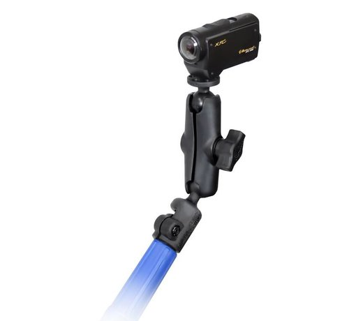 RAM Mount Telescoping Camera Pole Kit met Camera schroefdraad