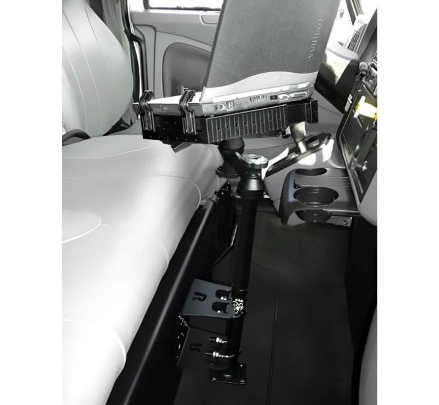 Vertical Drill-down Double Swingarm laptop RAM-VBD-184T-SW1