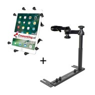 RAM Mount Universal No-Drill™ iPad X-Grip RAM-VB-196-SW1-UN9
