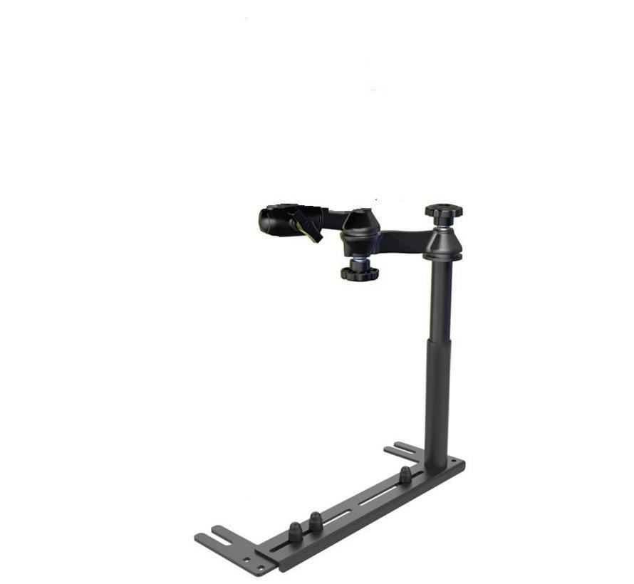 Universal No-Drill™ iPad 12.9 X-Grip RAM-VB-196-SW1-UN11