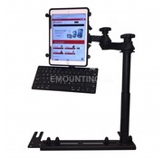 RAM Mount Universal No-Drill™ iPad X-Grip ROTOVIEW RAM-VB-196-SW1-UN9-KEY1