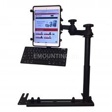 RAM Mount Universal No-Drill™ iPad X-Grip ROTOVIEW RAM-VB-196-SW1-UN9-KEY1