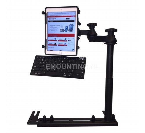RAM Mount Universal No-Drill™ iPad 9.7 X-Grip ROTO RAM-VB-196-SW1-UN9-KEY1