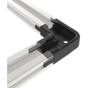 RAM Mount Haakse Connector voor Top-Loading Aluminum Tough-Track™