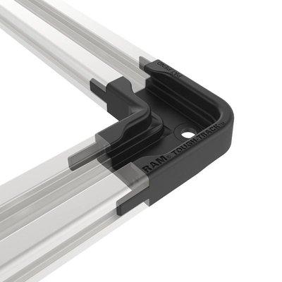 RAM Mount 90 Degree Connector for Top-Loading Aluminum Tough-Track™ RAP-TRACK-EXA-CC90U