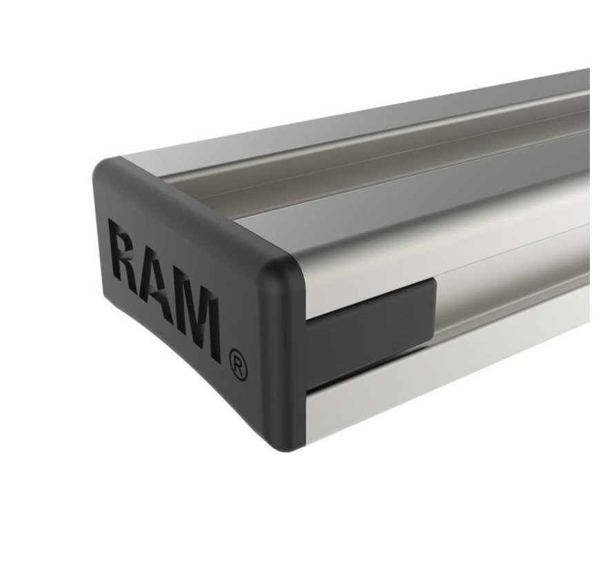 Tough-Track™ Aluminium Rail 127 mm RAM-TRACK-EXA-5u