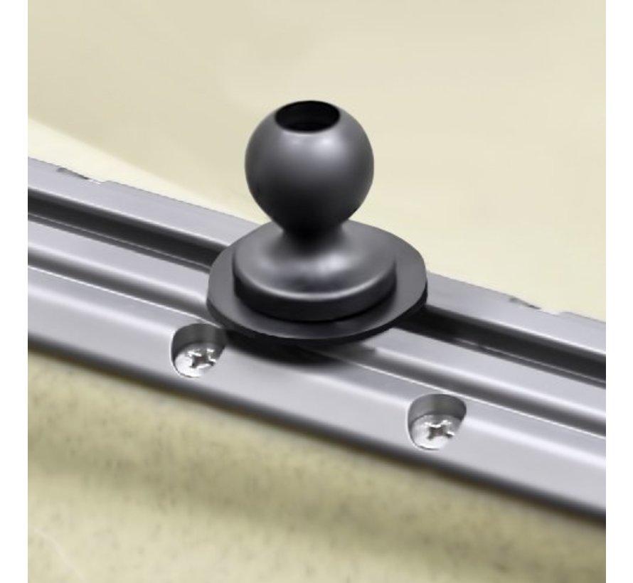 Balancerende drankhouder XL- Level Cup™ XL met Track-ball RAM-B-417B-C-354-TRA1