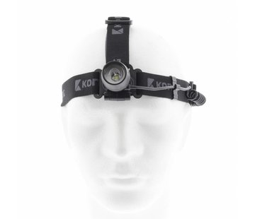 Outdoor Hoofdlamp 3 W 1 LED Zwart
