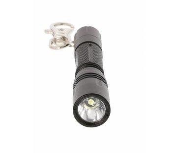 LED sleutelhanger Zaklamp Zwart