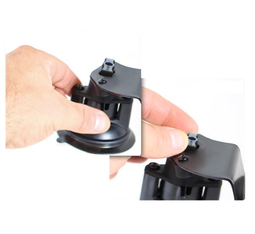 Dual Articulating Suction Cup Base