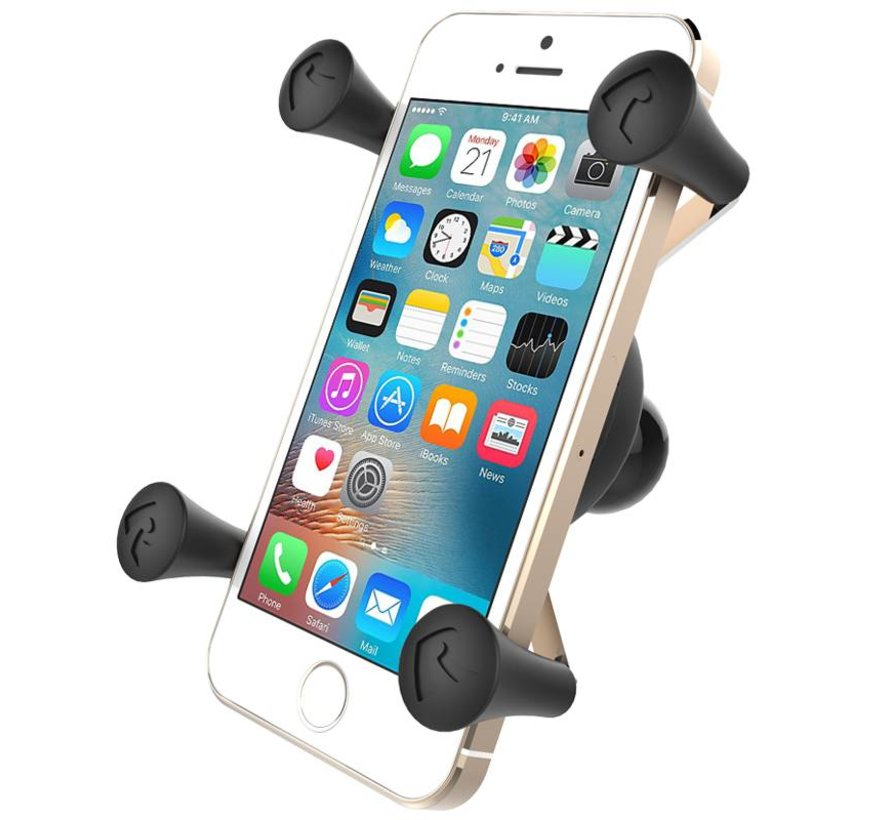 Toughball B-Kogel M8 bout met X-Grip houder smartphone set