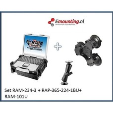 RAM Mount Laptop Triple suction set