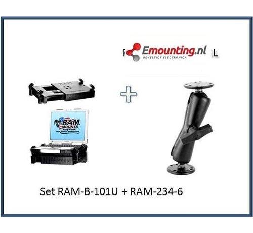 RAM Mount Universele netbookhouder schroefbevestiging