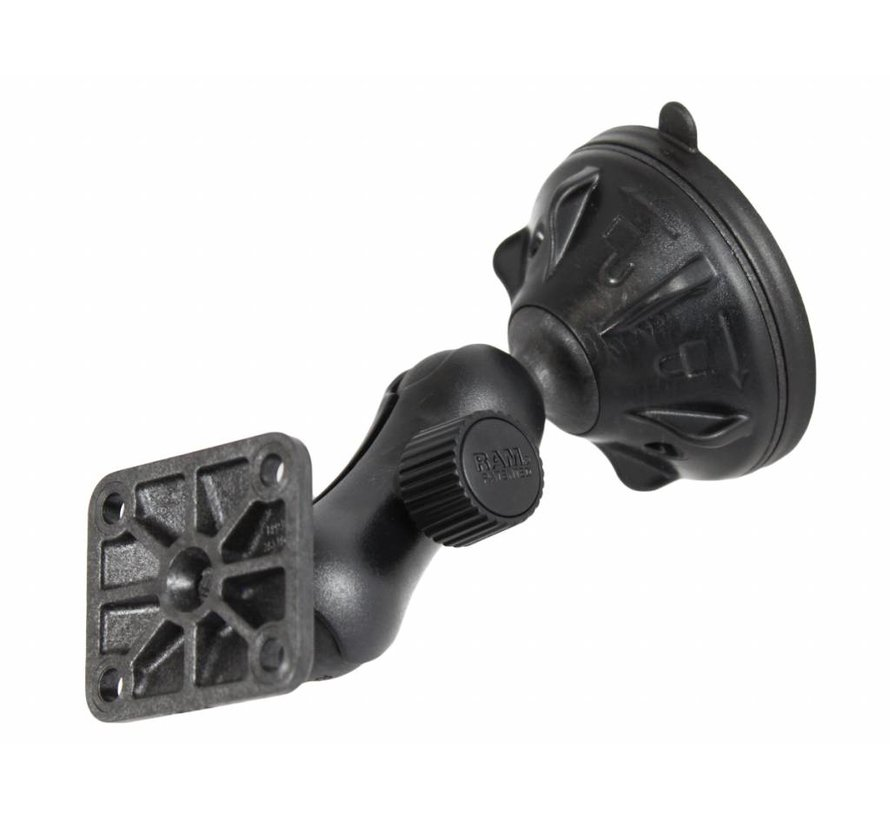 Compact Twist Lock Suction Cup Mount RAP-B-166-1U