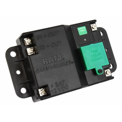 RAM Mount Safe-T-Charge™ Battery Protection System