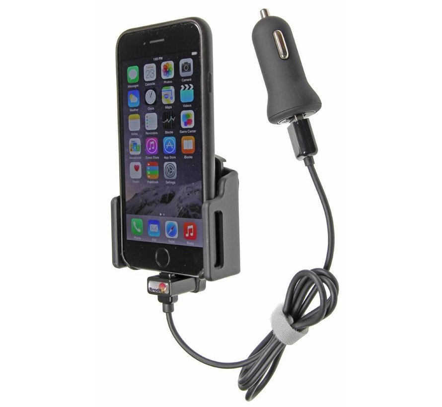 houder Apple iPhone 6/7/8/X (met Lightning USB kabel)