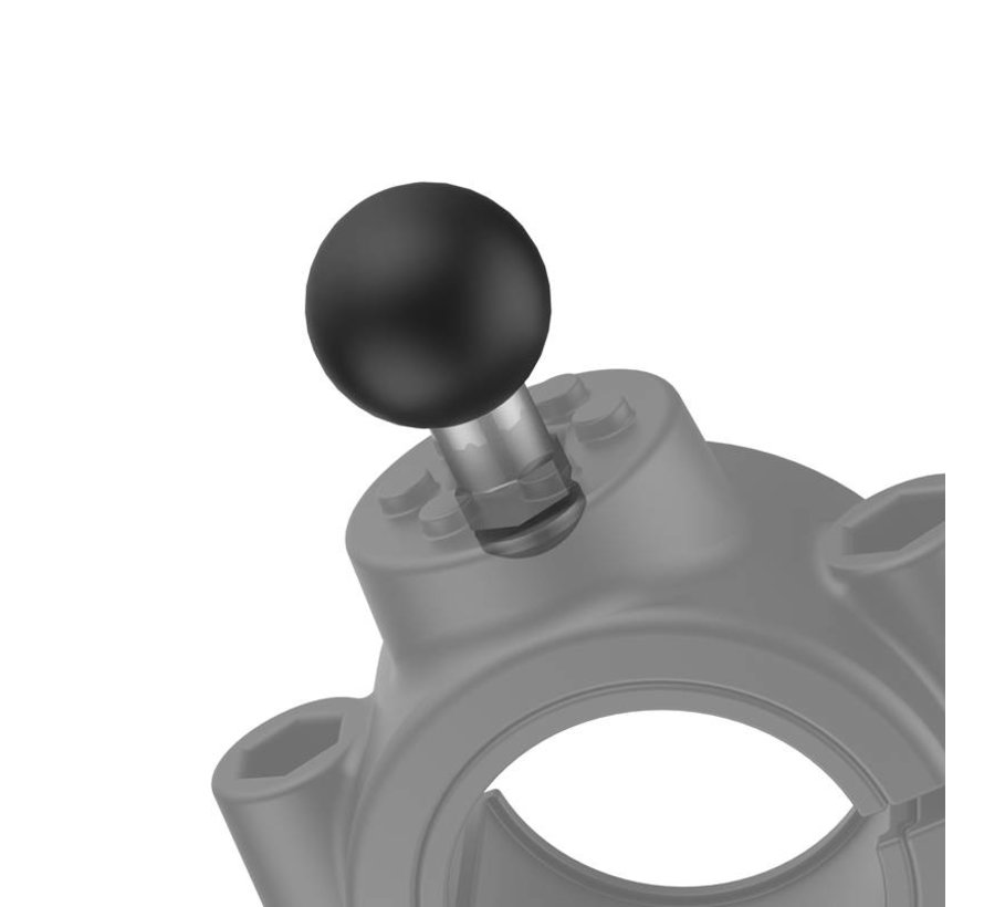 Large Torque™ 38-50 mm diameter Stangbevestiging B-kogel RAM-B-415-15-2U