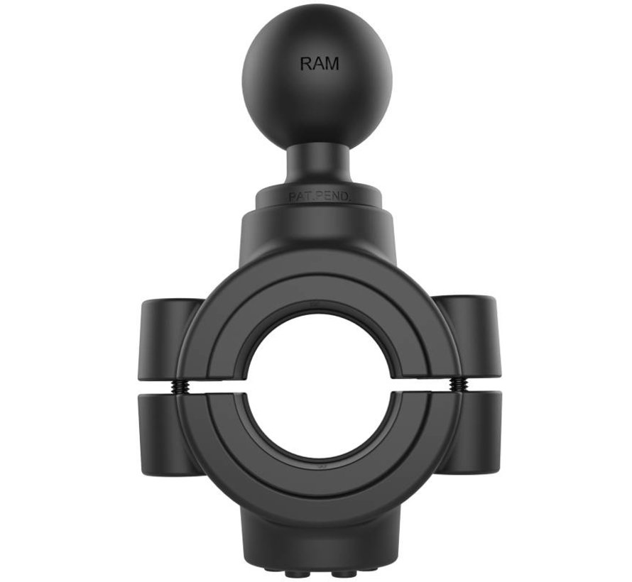 Large Torque™ 38-50 mm diameter Stangbevestiging C-kogel RAM-351-415-15-2U