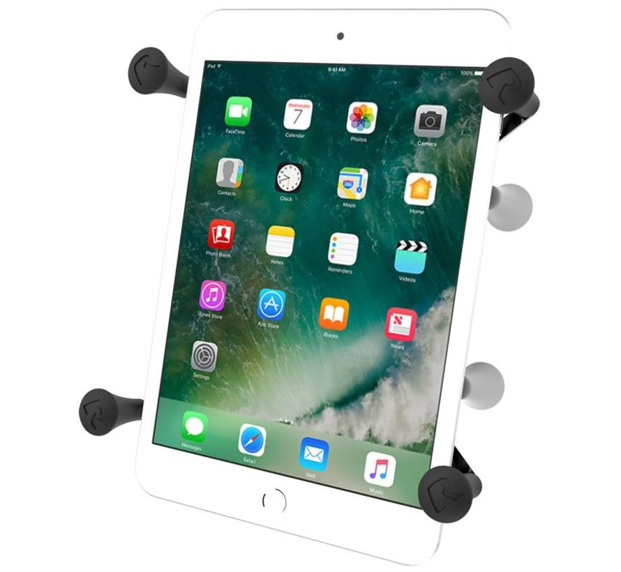 X-Grip 7/8 inch tablets dubbele zuignapset verlengde knop UN8U