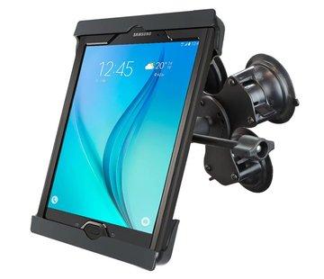 RAM Mount Tab-Tite iPad 9.7-10.2 met case triple zuignapset verlengde knop TAB20U
