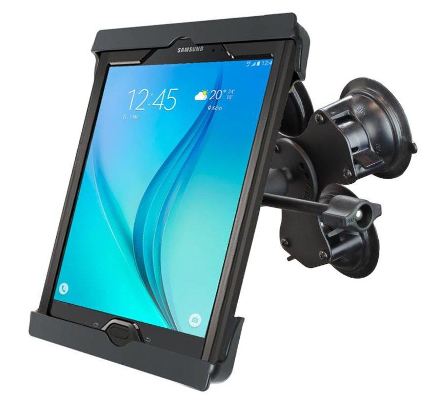 Tab-Tite iPad 9.7 case triple zuignapset verlengde knop TAB20U