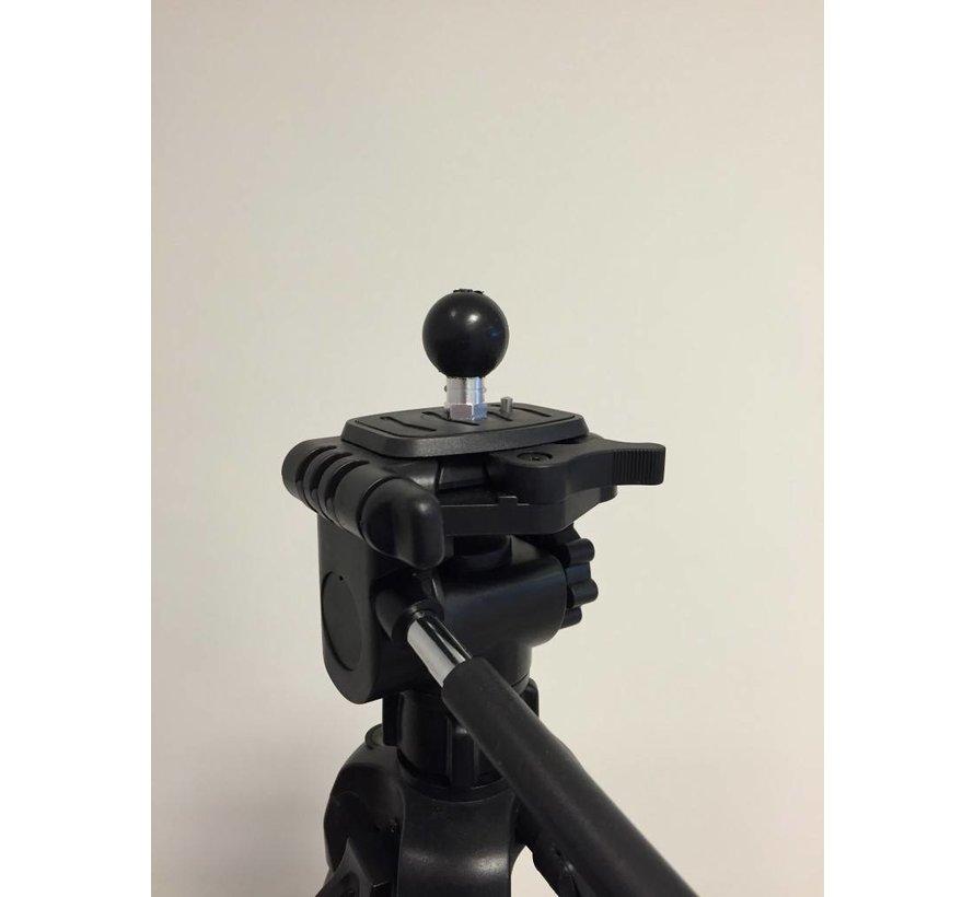 """B-Kogel met inwendige 1/4""""-20 camera schroefdraad"""