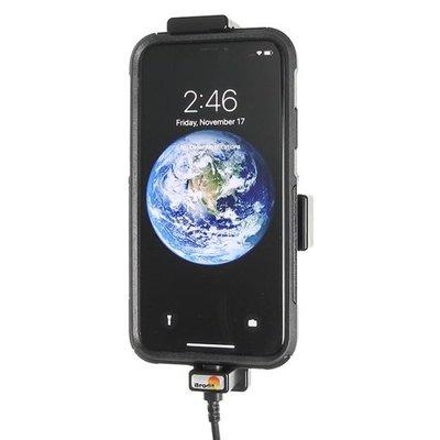 Brodit houder Apple iPhone X (met Lightning USB kabel)