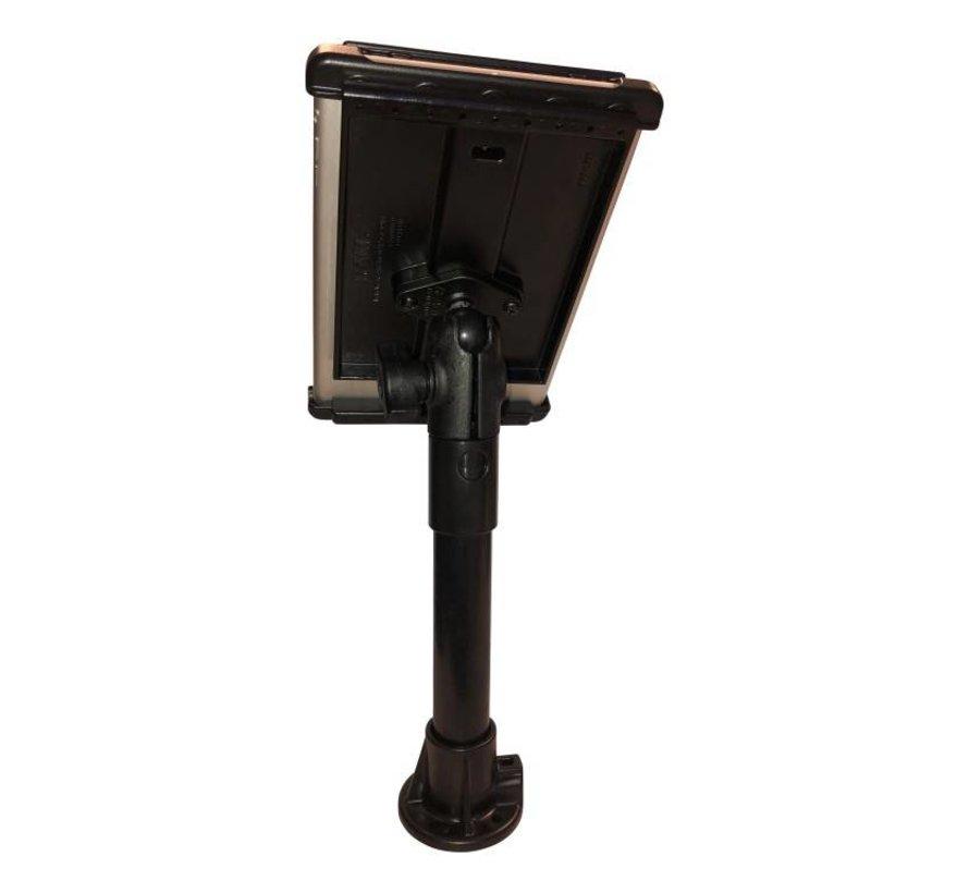 Pedestal system met iPad Mini houder