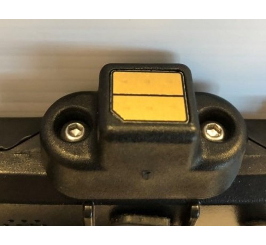 AiShell autohouder en connector blok (zonder case) Ipad pro