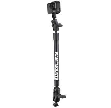 RAM Mount 55 cm  Tough-Pole™ Camera Mount met Track Ball™ Base
