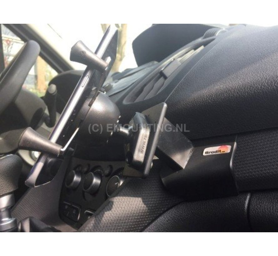 X-Grip Large smartphonehouder auto met Brodit Proclip