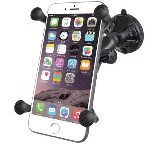 RAM Mount Large X-Grip smartphone zuignap set RAP-B-166-2-UN10U
