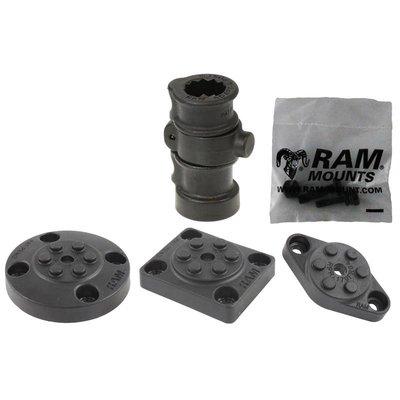 RAM Mount Adapt-A-Post™ Base met 3 Drill-Down Base Opties RAP-386B-AAPU