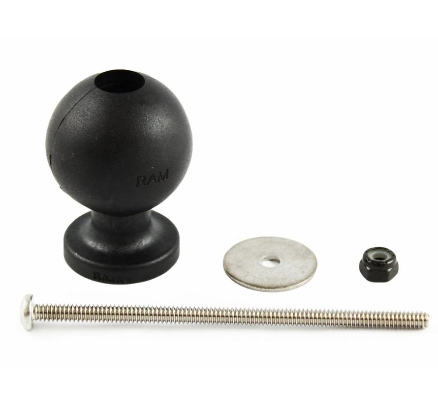 """1.5"""" Ball and Hardware for the RAM 5 Spot Mounting Base RAP-114-5BU"""