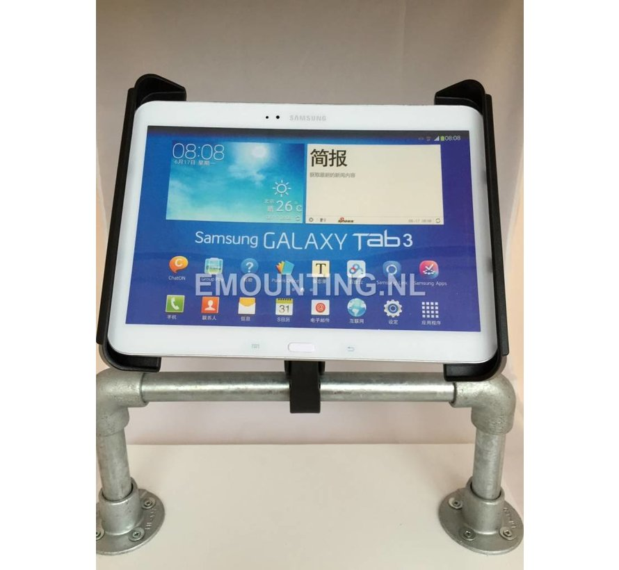Tough-Claw 10 inch tablet stangmontageset
