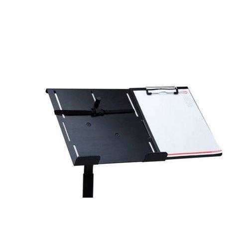 A4 schrijfplateau voor Extreme Desk autolaptophouder