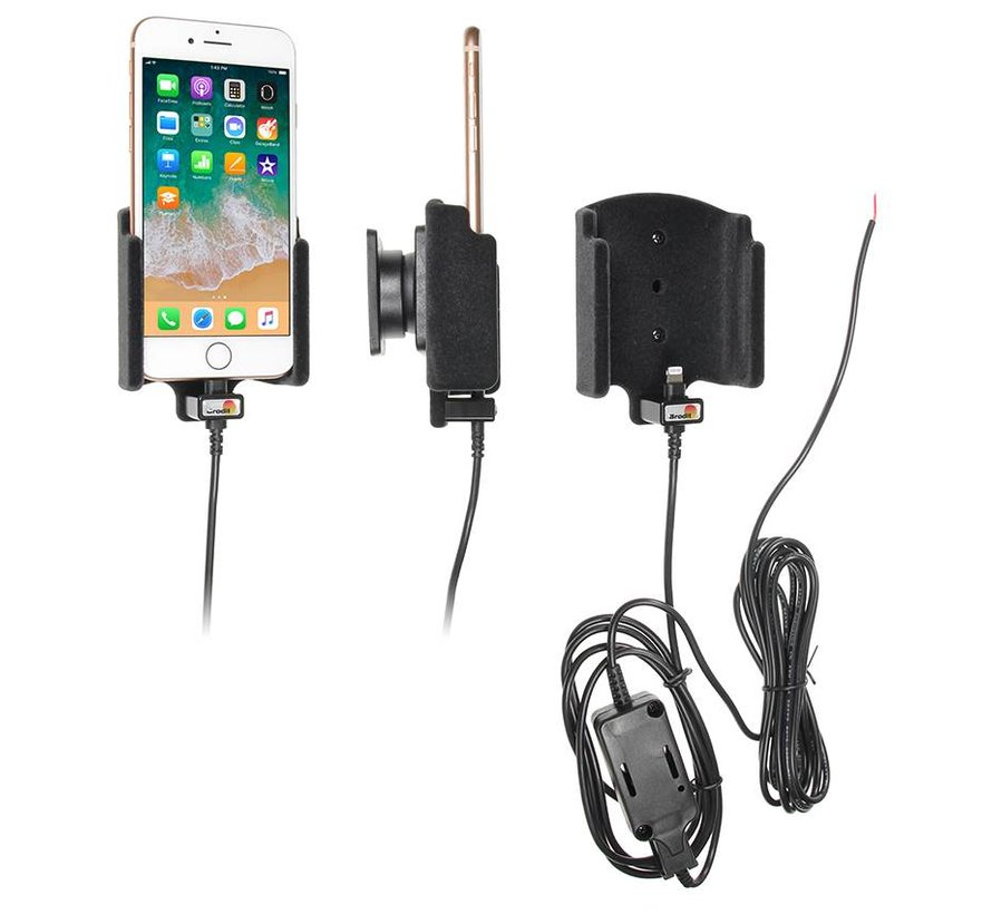 houder/lader Apple iPhone 8 padded hardware