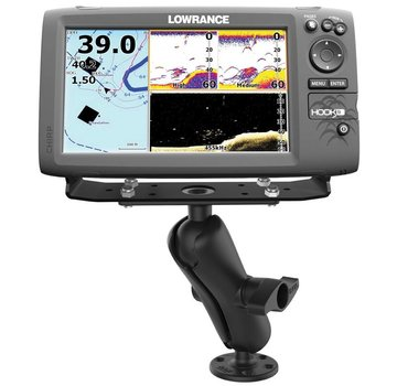"""RAM Mount D-maat montage steun Mount for 9""""-12"""" Fishfinders and Chartplotters RAM-D-115"""
