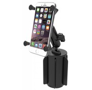 RAM Mount Bekerhouder X-Grip iPhone 6 plus set